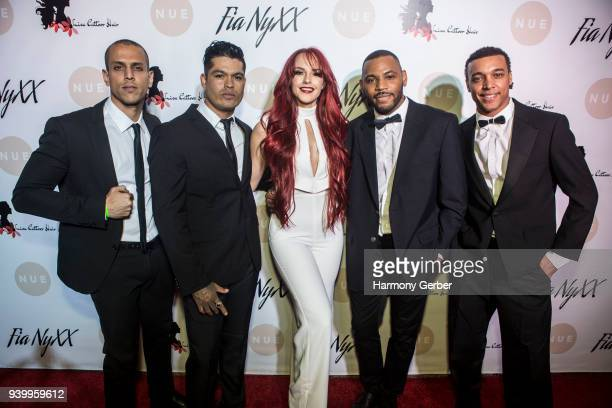 Fia NyXX attends her album release party at The Mint on March 29, 2018 in Los Angeles, California.