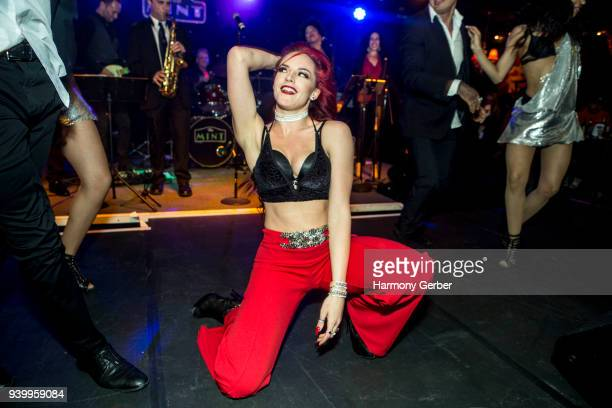 Fia NyXX performs at The Mint on March 29 2018 in Los Angeles California