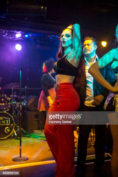 Fia NyXX performs at The Mint on March 29, 2018 in Los Angeles, California.