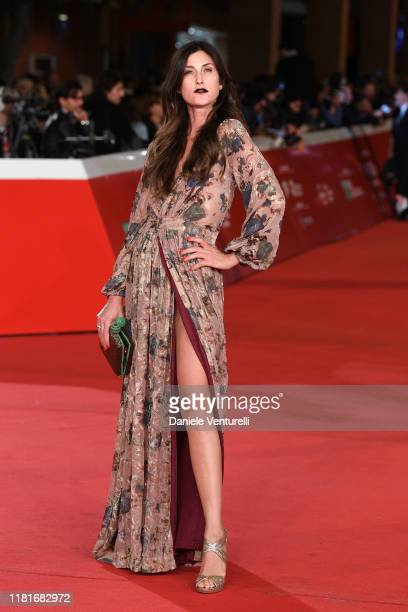 Fiamma Andrioli attends the Motherless Brooklyn red carpet during the 14th Rome Film Festival on October 17 2019 in Rome Italy