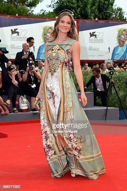 Fiammetta Cicogna attends the opening ceremony and premiere of 'Everest' during the 72nd Venice Film Festival on September 2 2015 in Venice Italy