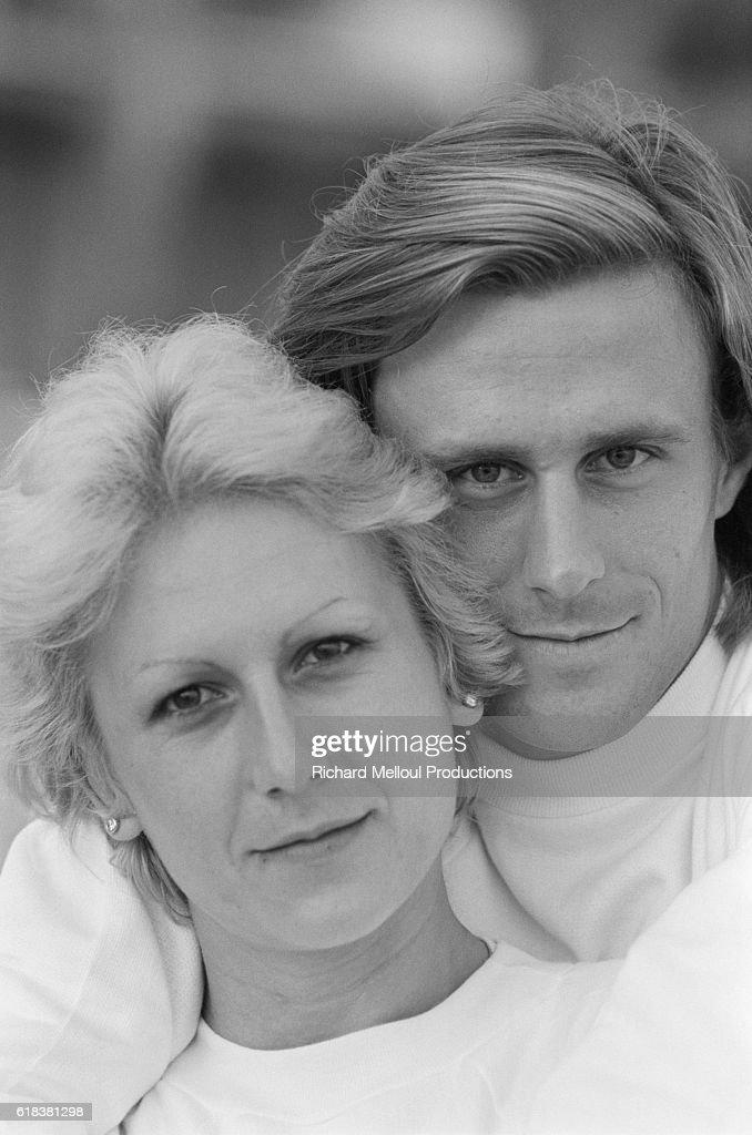 Mariana Simionescu and Bjorn Borg : Photo d'actualité