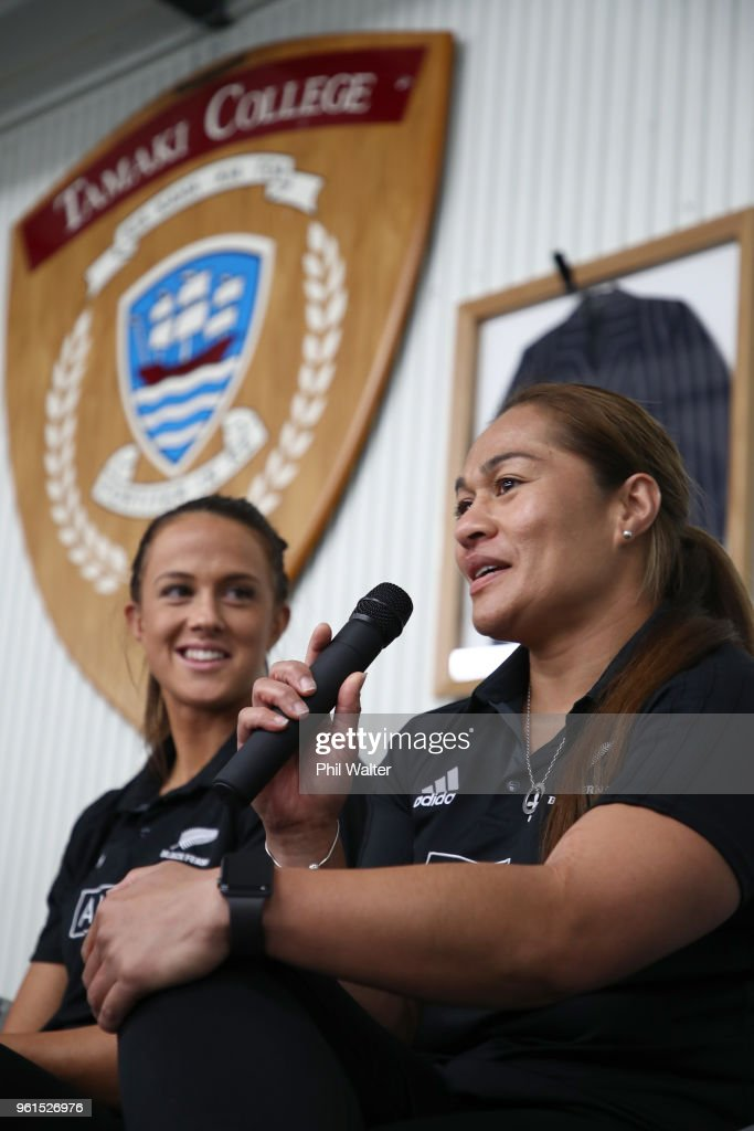 New Zealand Black Ferns Team Announcement