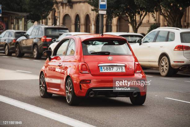 fiat 500 abarth - number 500 stock pictures, royalty-free photos & images