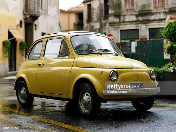 Fiat 500 Personen. Color Image