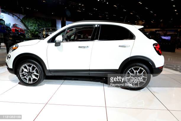 Fiat 500 is on display at the 111th Annual Chicago Auto Show at McCormick Place in Chicago Illinois on February 8 2019