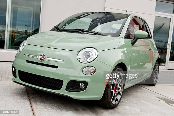 fiat 500 sport city car - fiat stock photos and pictures