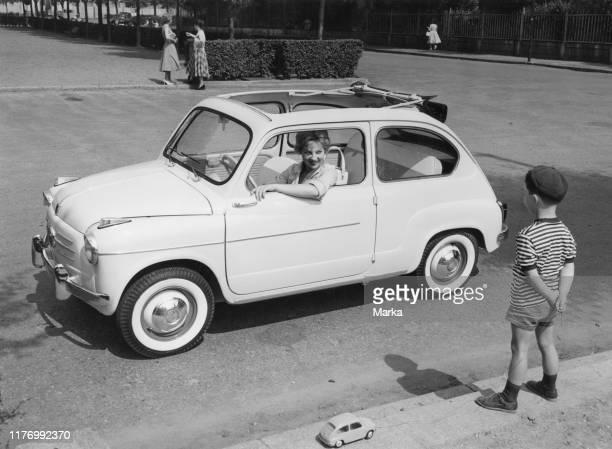 Fiat 500 trasformabile. 1959.