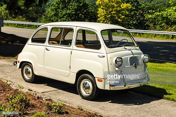 fiat 600 multipla - fiat stock photos and pictures