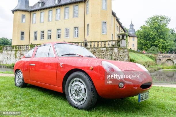 "carro de coupé fiat abarth mono 1000 clássico italiano de 1960 compacto - ""sjoerd van der wal"" or ""sjo"" - fotografias e filmes do acervo"