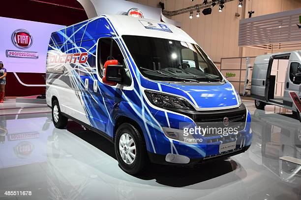 Fiat Ducato on the motor show