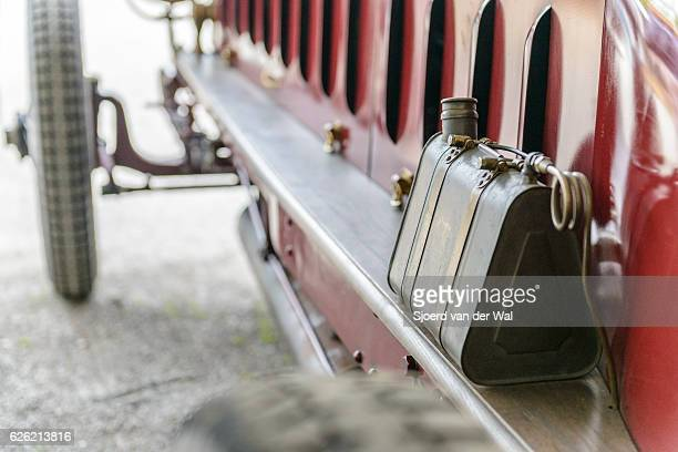 """fiat isotta fraschini classic speed record race car detail - """"sjoerd van der wal"""" stock pictures, royalty-free photos & images"""