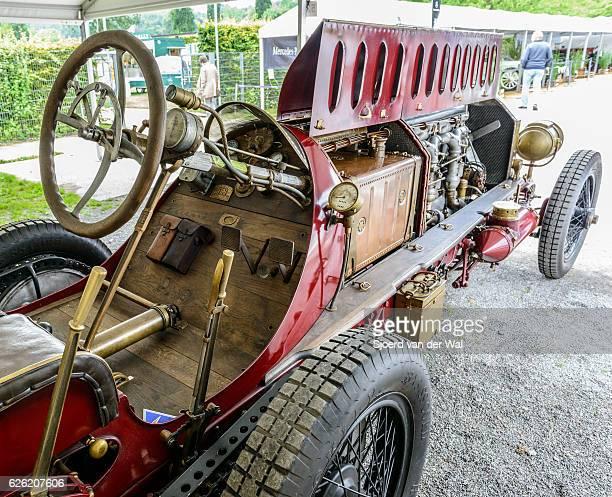 fiat isotta fraschini classic speed record race car - sjoerd van der wal or sjo stockfoto's en -beelden