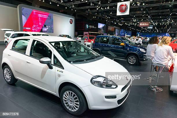 "fiat punto hatchback car - ""sjoerd van der wal"" or ""sjo"" stock pictures, royalty-free photos & images"