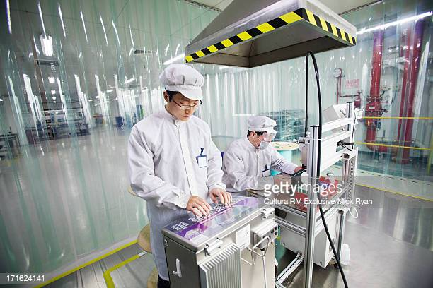 Fiber optic cable manufacturing plant, Shanghai, China