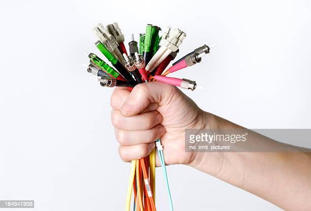Glasfaser-Kabel