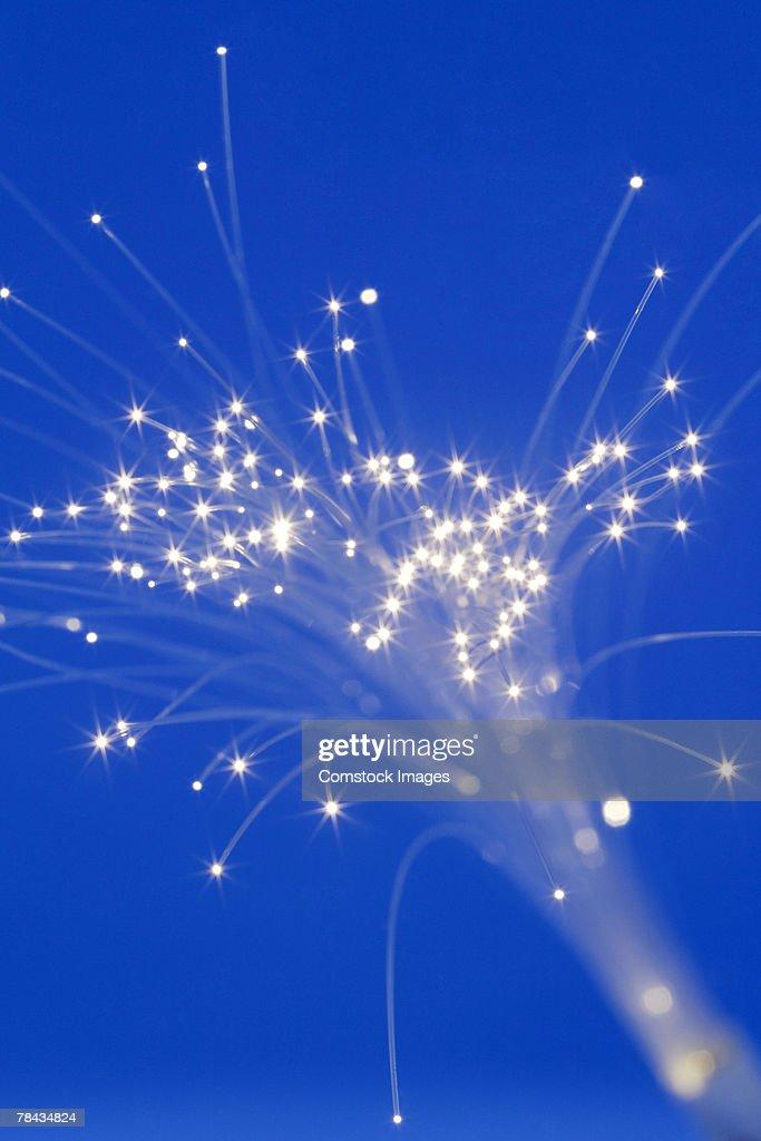 Fiber optics : Stockfoto