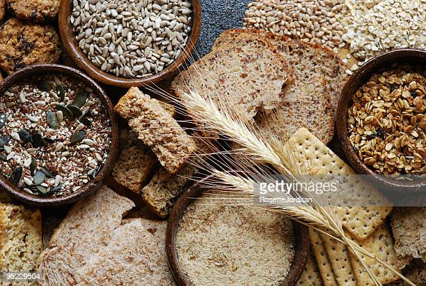 fibre food for healthy eating - cereal plant stock pictures, royalty-free photos & images