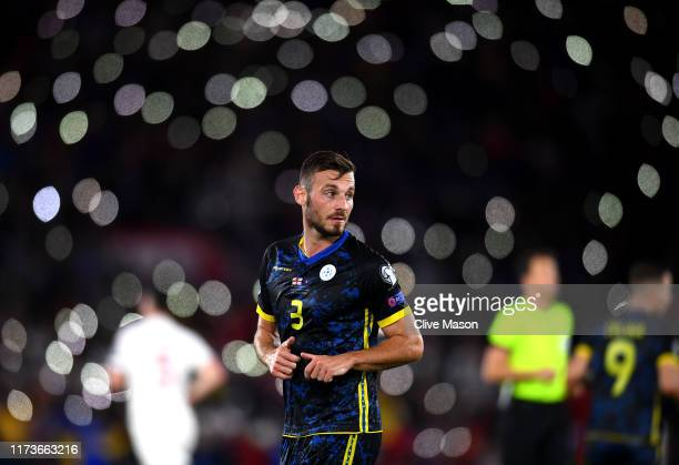 Fidan Aliti of Kosovo during the UEFA Euro 2020 qualifier match between England and Kosovo at St Mary's Stadium on September 10 2019 in Southampton...