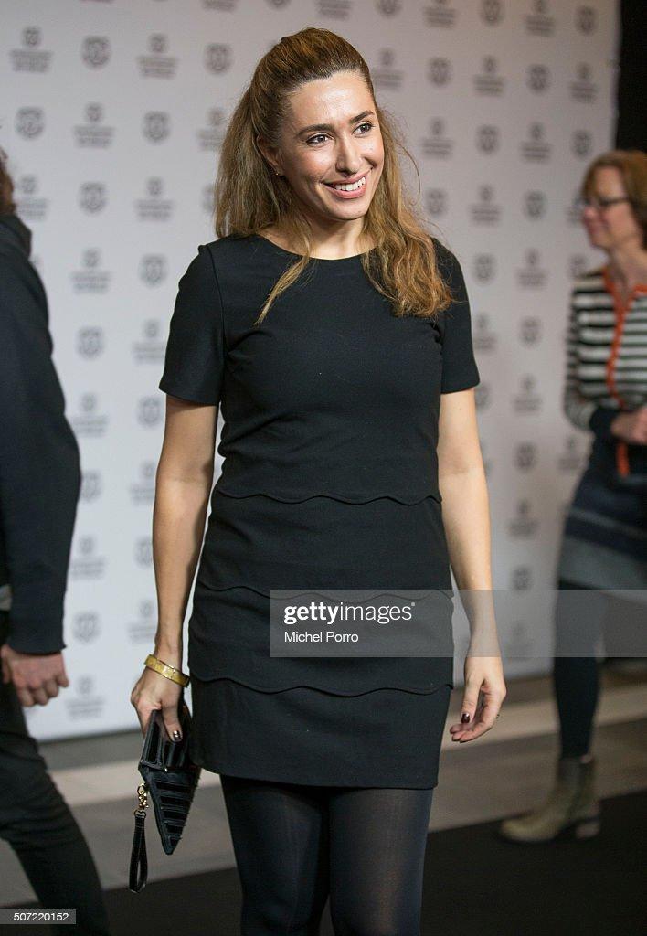 Fidan Ekiz attends the opening of the Rotterdam International Film Festival on January 27, 2016 in Rotterdam, Netherlands.