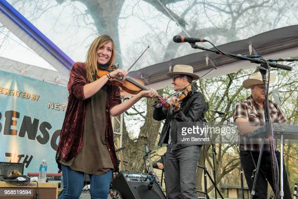 Fiddle player and vocalist Katie Shore fiddle and mandolin player and vocalist Dennis Ludiker and pedal steel guitarist and saxophonist Eddie Rivers...