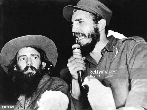 Fidel Castro and Camilo Cienfuegos after the seizure of power Cuba