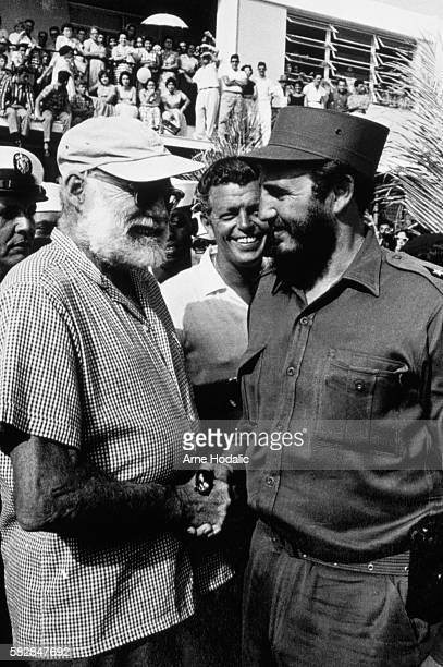 Fidel Castro and Ernest Hemingway in Cuba