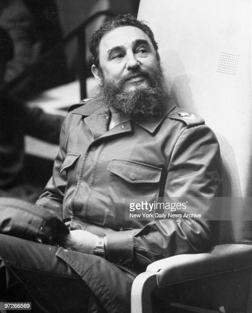Fidel Castro at the United Nations