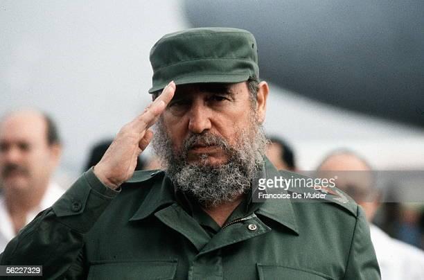Fidel Castro, Cuban statesman. Havana , in June 1988. FDM-614-4.