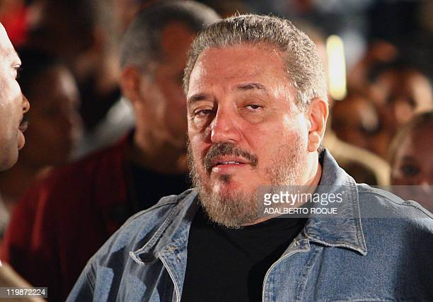 Fidel Castro DiazBalart son of Cuban ailing president Fidel Castro attend a meeting in Havana 28 January 2008 to celebrate the 150th Anniversary of...
