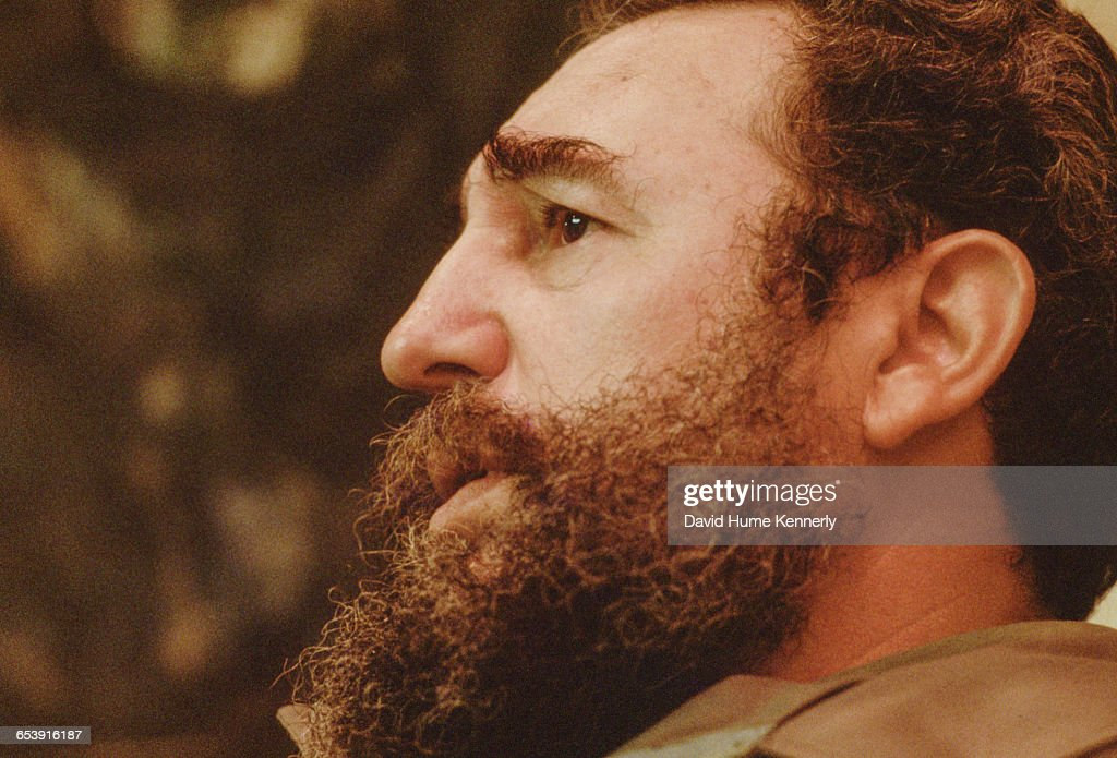 Fidel Castro in Havana, Cuba : News Photo