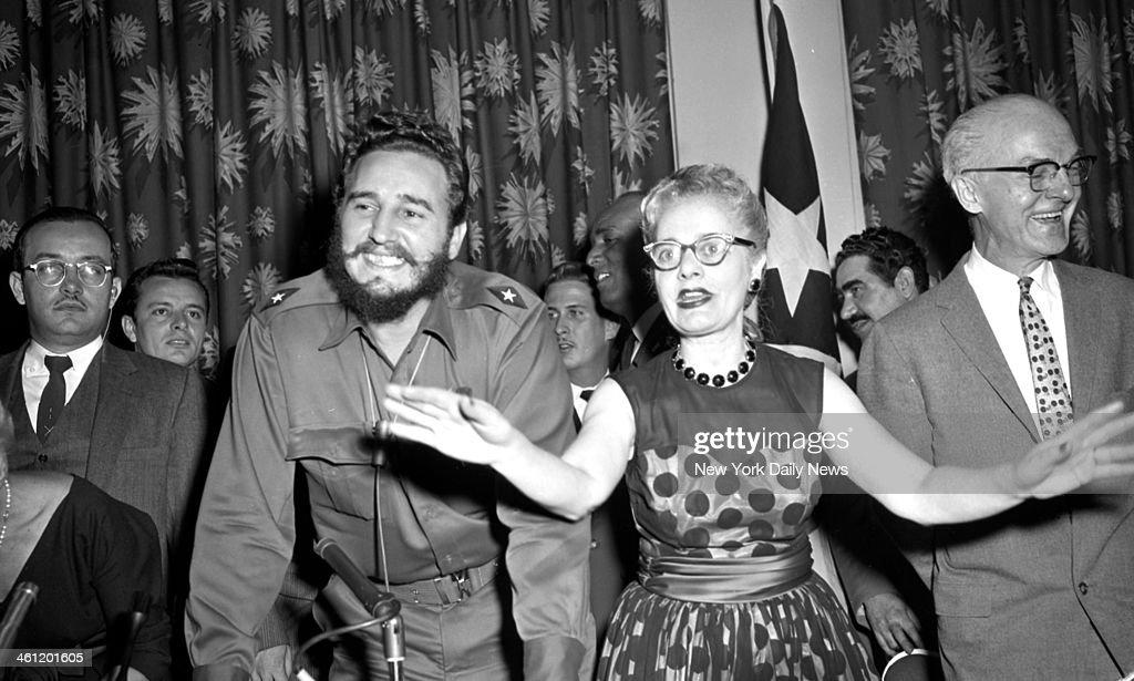 Fidel Castro visits New York : Fotografia de notícias