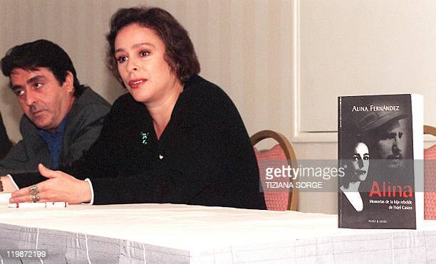 Fidel Castro's daughter Alina Fernandez speaks about her father's regime and introduces her book Alina Memoir of Fidel Castro's Rebel Daughter during...