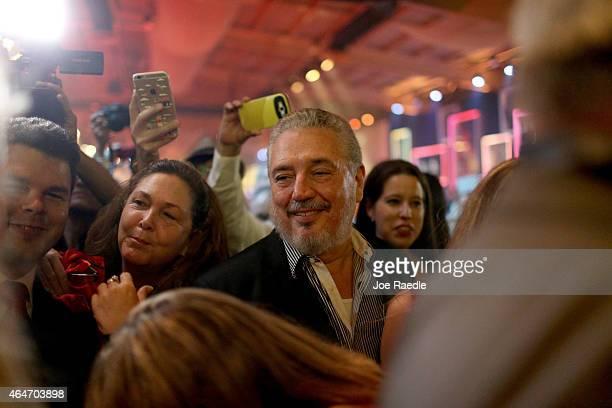 Fidel 'Fidelito' Castro DiazBalart son of Cuban revoloutionary leader Fidel Castro attends the closing gala night for the weeklong International...
