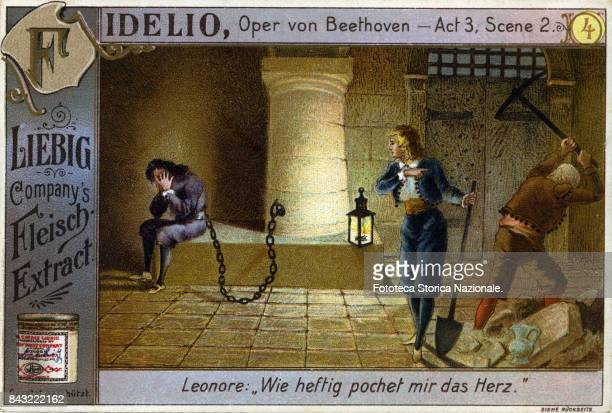 'Fidelio' Act 3 Scene 2 opera by Ludwig Van Beethoven on a libretto by Joseph Sonnleithner and Georg Friedrich Treitschke The story is taken from...