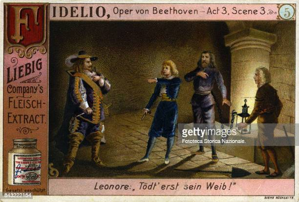 'Fidelio' Act 3 Scene 3 opera by Ludwig Van Beethoven on a libretto by Joseph Sonnleithner and Georg Friedrich Treitschke The story is taken from...