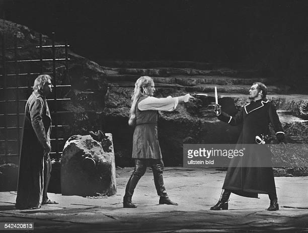 Fidelio' von BeethovenRainer Goldberg Eva Marton undTheo AdamInsz Leopold LindtbergMusLtg Lorin Maazel 1982