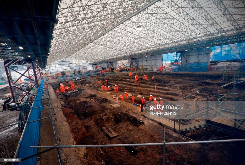 BRITAIN-AUSTRALIA-TRANSPORT-ARCHAEOLOGY : News Photo
