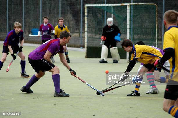 field hockey - bandy winter sport stock pictures, royalty-free photos & images