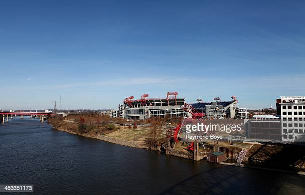 Field, home of the Tennessee Titans footballl team in Nashville, Tennessee on NOVEMBER 24, 2013.