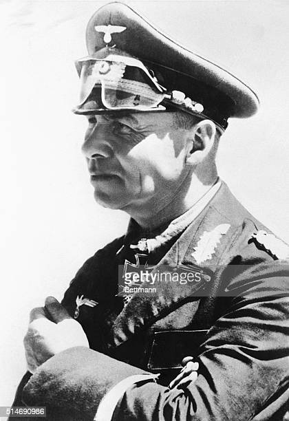 Field Marshal Rommel inspects the Atlantic Seawall installations