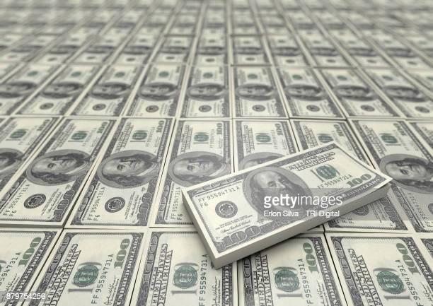 Field of American Dollars
