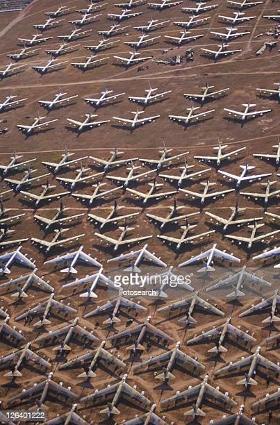 A Field of B-52 Aircraft, Air Force Base
