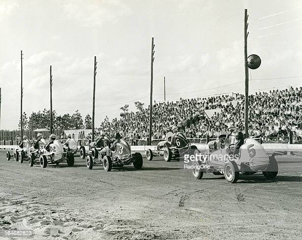Midget Car Racing Stock Photos And Pictures Getty Images