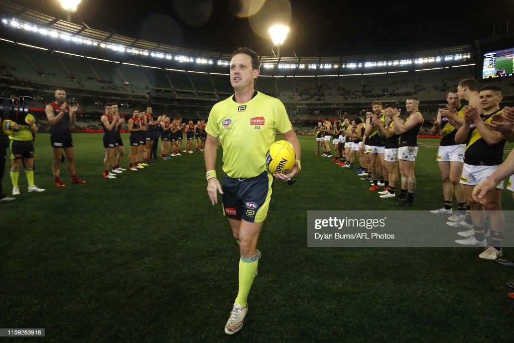 AFL Rd 20 - Melbourne v Richmond : News Photo
