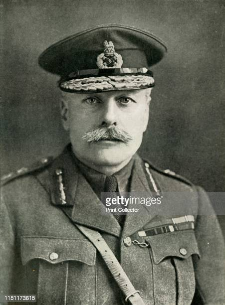 FieldMarshal Earl Haig' 1910s Portrait of Field Marshal Douglas Haig British soldier and senior commander during World War I Haig was commander of...