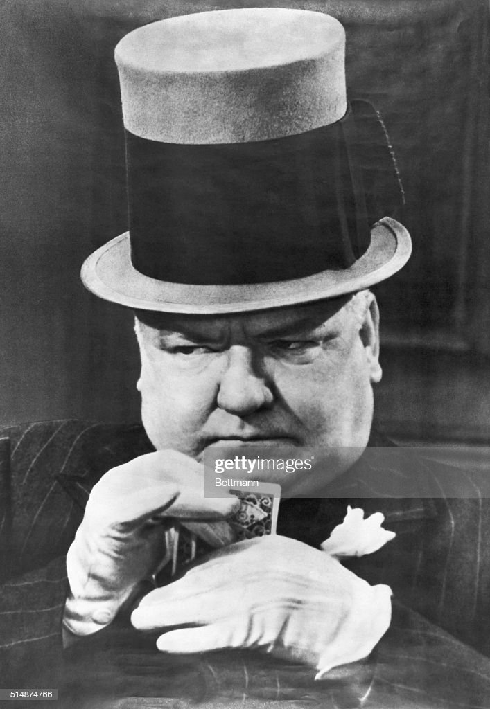 9f823459bff WC Fields in typical poker face pose Undated photograph
