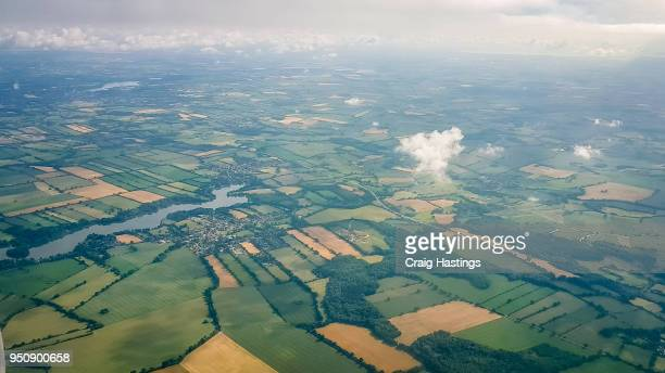 fields of manchester - surrey england stock pictures, royalty-free photos & images