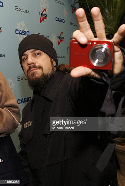 Fieldy of Korn during Stuff Magazine Toys for Bigger Boys Casio Gifting Area at Hammerstein Ballroom in New York City New York United States