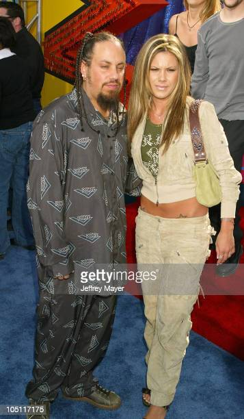 Fieldy of Korn guest during 2003 MTV Movie Awards Arrivals at The Shrine Auditorium in Los Angeles California United States